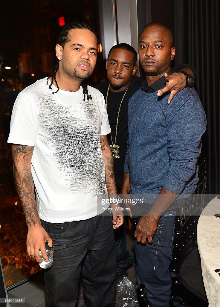 Boo, Rossini, Scrilla and Carbon 15 attend Jeezy's birthday extravaganza at Reign Nightclub on September 28, 2012 in Atlanta, Georgia.
