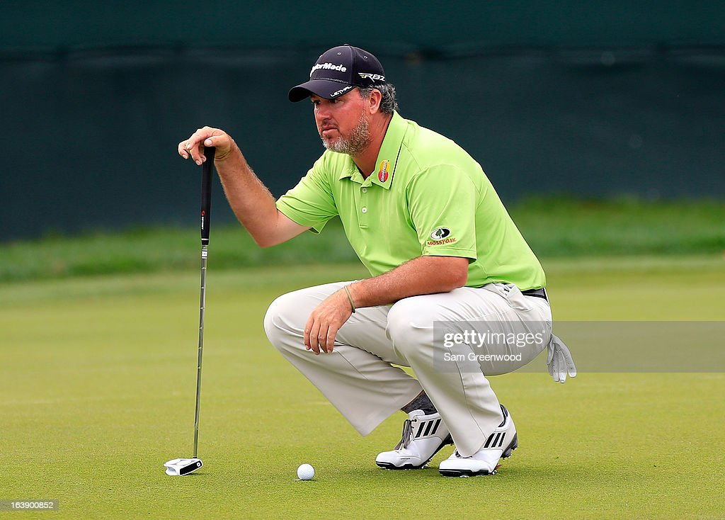 Boo Weekley plays a shot on the 18th hole during the final round of the Tampa Bay Championship at the Innisbrook Resort and Golf Club on March 17, 2013 in Palm Harbor, Florida.