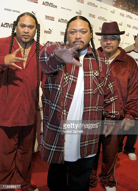 Boo Ya Tribe during Nick Kang and Activision Along with Puma Celebrate The Launch of 'True Crime Streets of LA' Video Game at Ivar Studios in...