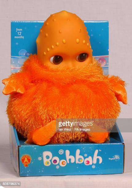 Boobah one of the top 10 toys children are expected to want for Christmas on show at Dream Toys 2003 Teenage Mutant Ninja Turtles one of the...