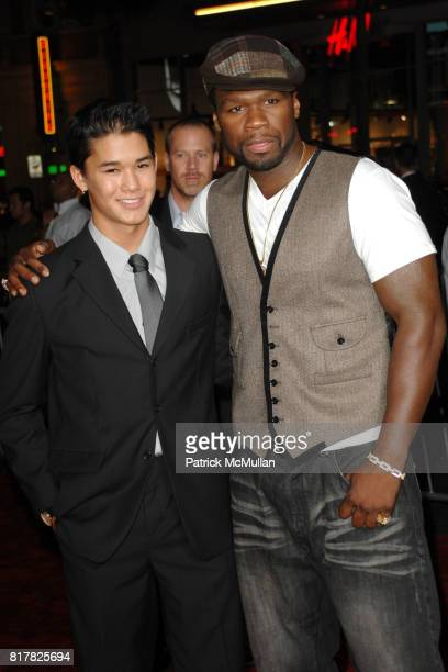 BooBoo Stewart and Curtis '50 Cent' Jackson attend Los Angeles Special Screening of RED at Grauman's Chinese Theater on October 11 2010 in Hollywood...