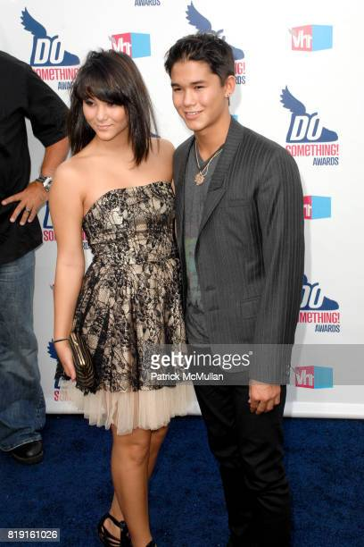 Booboo Stewart and Fivel Stewart attend 2010 VH1 Do Something Awards at Hollywood Palladium on July 19 2010 in Hollywood CA