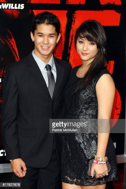 BooBoo Stewart and Fivel Stewart attend Los Angeles Special Screening of RED at Grauman's Chinese Theater on October 11 2010 in Hollywood California