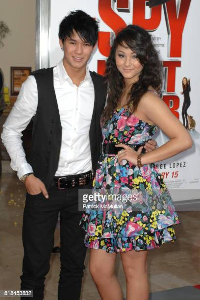 Booboo Stewart and Fivel Stewart attend 'The Spy Next Door' Los Angeles Premiere at The Grove on January 9 2010 in Los Angeles California