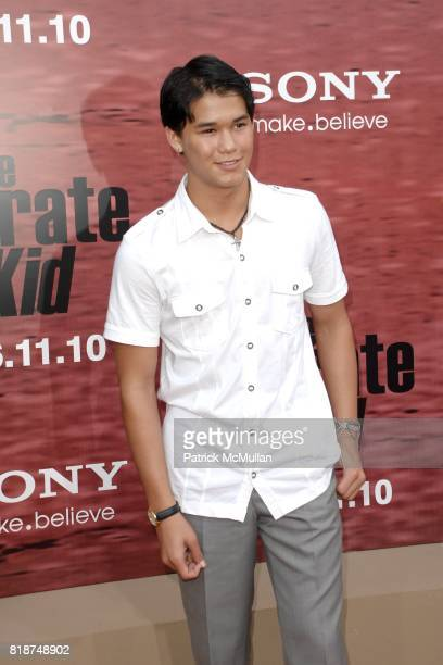 BooBoo Stewart attends PREMIERE OF COLUMBIA PICTURES THE KARATE KID at Mann's Village Theatre on June 7 2010 in Westwood California