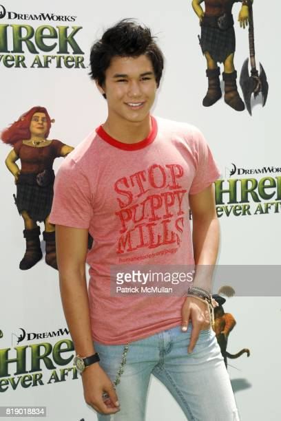 Booboo Stewart attends 'Shrek Forever After' Los Angeles Premiere at Gibson Amphitheatre on May 16 2010 in Universal City CA