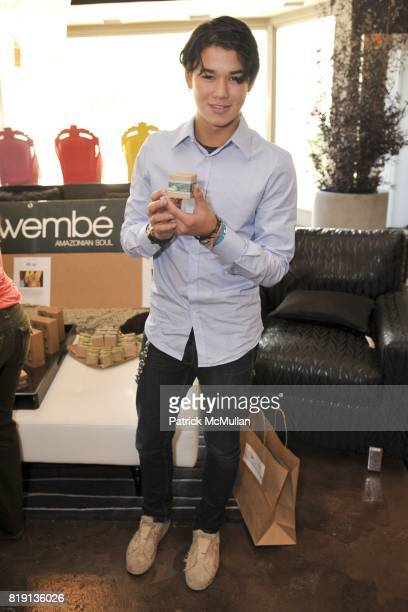 BooBoo Stewart attends Silver Spoon Presents Oscar Weekend Red Cross Event For Haiti Relief at Interior Illusions on March 3 2010 in West Hollywood...