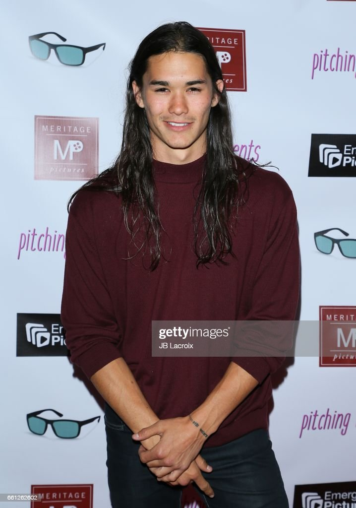 Booboo Stewart attends the premiere of Meritage Pictures' 'Pitching Tents' on March 30, 2017 in Santa Monica, California.