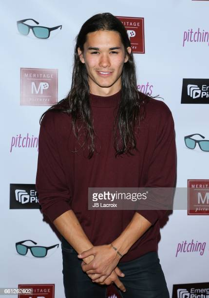 Booboo Stewart attends the premiere of Meritage Pictures' 'Pitching Tents' on March 30 2017 in Santa Monica California