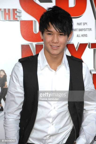 Booboo Stewart attends 'The Spy Next Door' Los Angeles Premiere at The Grove on January 9 2010 in Los Angeles California