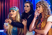 COUNTY 'Boogie Fights' Episode 1105 Pictured Tamra Barney Heather Dubrow Meghan King Edmonds