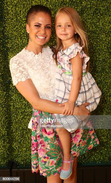 Boogie Tillmon and Betty Parker attend the Premiere Of Universal Pictures And Illumination Entertainment's 'Despicable Me 3' at The Shrine Auditorium...