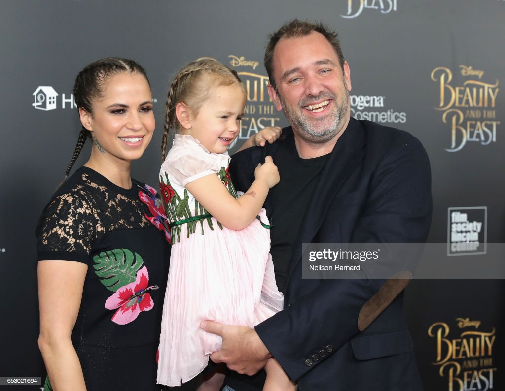 Boogie Tillmon and Trey Parker attend the 'Beauty And The Beast' New York Screening at Alice Tully Hall at Lincoln Center on March 13, 2017 in New York City.