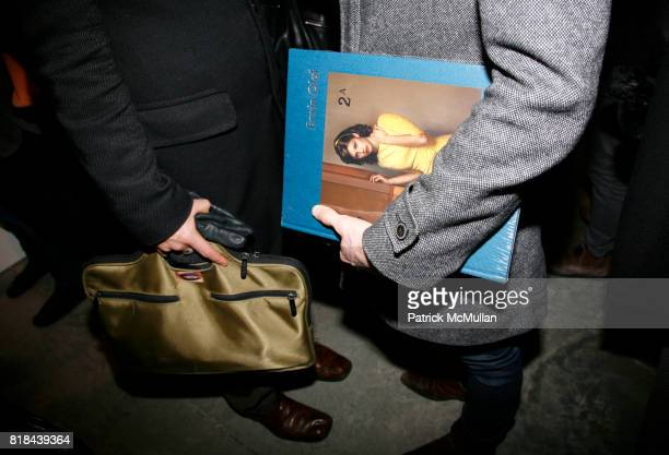 Book attends ERWIN OLAF Opening Reception at Hasted Hunt Kraeutler on January 28 2010 in New York