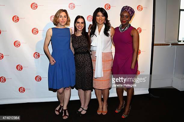 NTY book editor Pamela Paul Girls Write Now founder and executive director Maya Nussbaum journalist Juju Chang and author Chimamanda Ngozi Adichie...