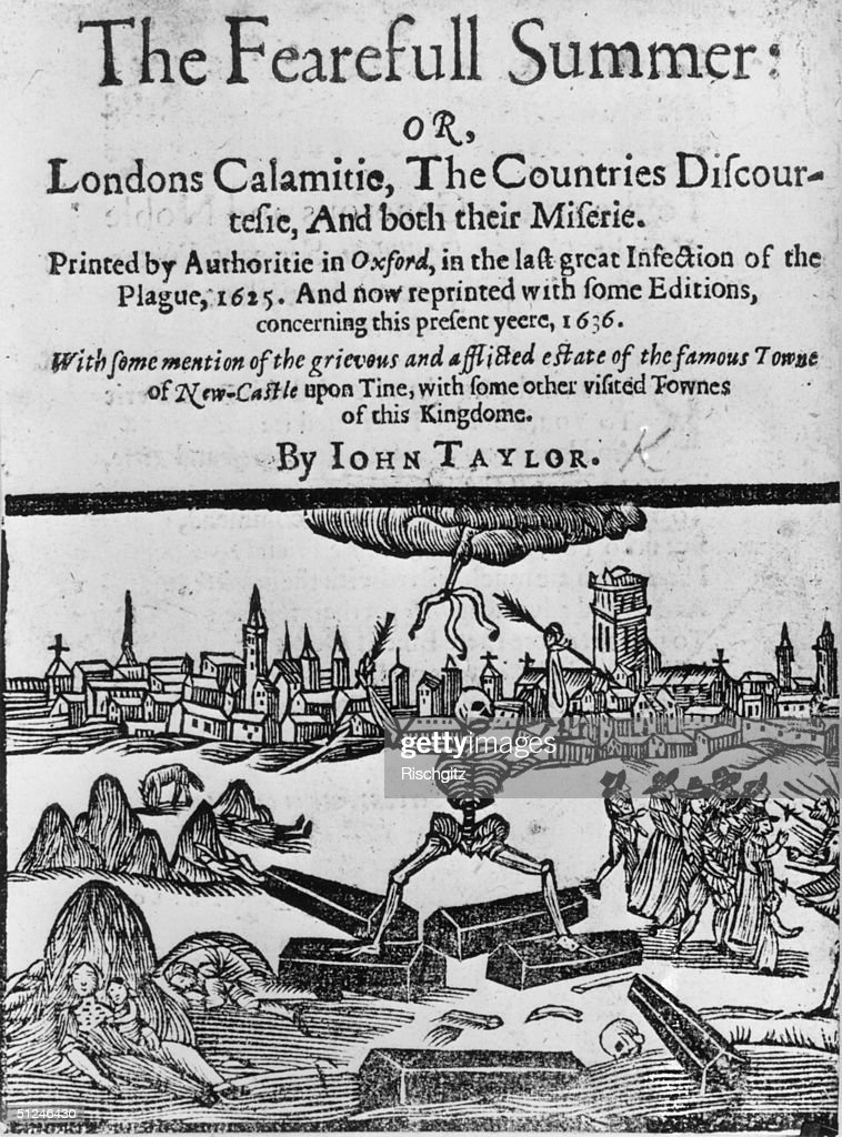1636 A book entitled 'The Fearful Summer' about the Great Plague which struck London in 1625