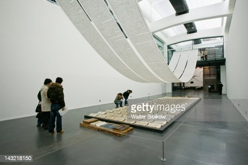 BEIJING 798- A Book from the Sky by Xu Bing, Ullens Center for Contemporary Art, Chaoyang District, Beijing, China
