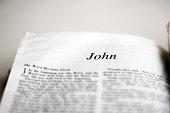 Book of John in the Bible