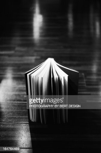 Book opening : Stock Photo