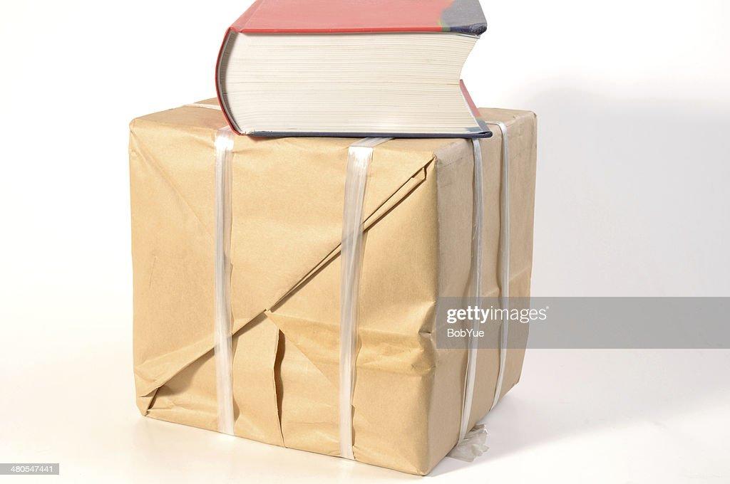 Marcar a embalagem : Foto de stock