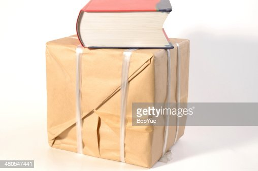 Book Packaging : Stock Photo