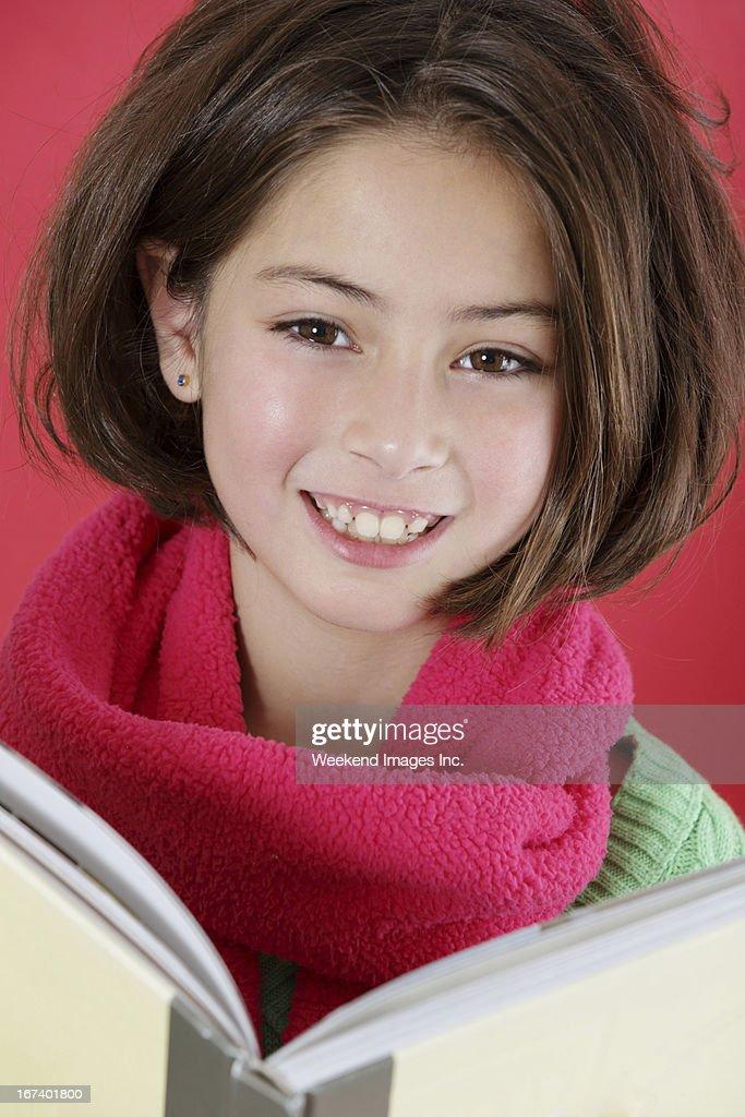 Book reader : Stockfoto