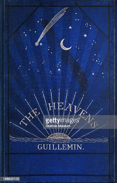 Book The Heavens An Illustrated Handbook of Popular Astronomy by Amedee Guillemin Fourth Edition London Book Cover