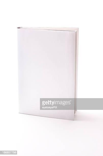 Livro com capa em branco