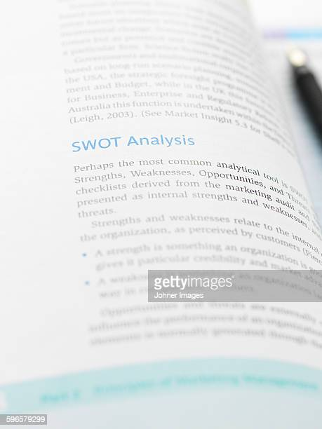 Book with chapter about SWOT analysis