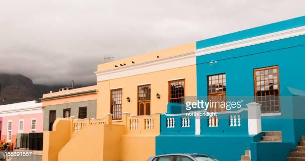 Boo-Kaap Häuser in Cape Town