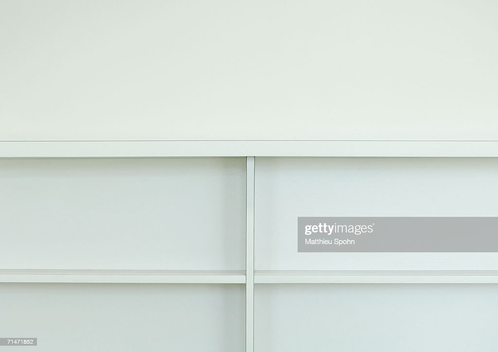 Bookcase, cropped view
