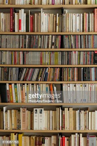 Bookcase, full frame