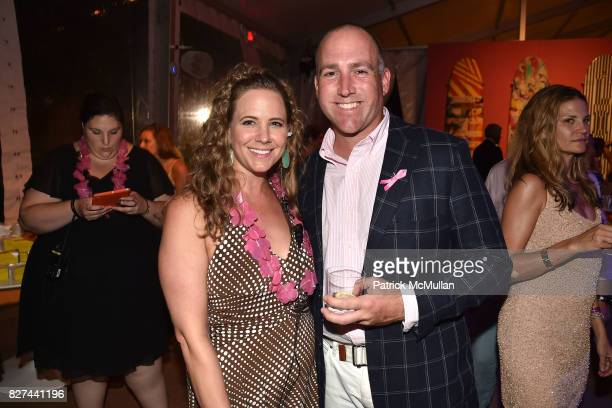 Booke Davidson and Bob Nolan attend Sixth Annual Hamptons Paddle and Party for Pink Benefitting the Breast Cancer Research Foundation at Fairview on...