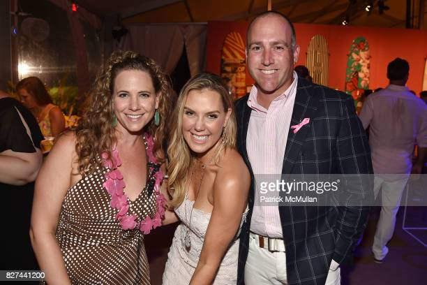 Booke Davidson Kendra Scott and Bob Nolan attend Sixth Annual Hamptons Paddle and Party for Pink Benefitting the Breast Cancer Research Foundation at...
