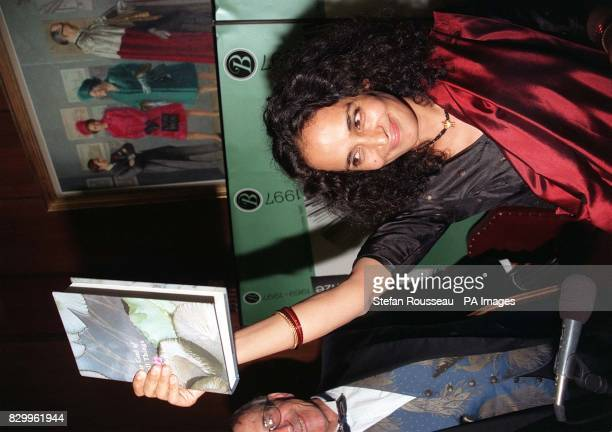 Booker Prize winner Arundhati Roy who tonight won the 20000 literary award with her debut novel The God of Small Things See PA Story ARTS Booker...