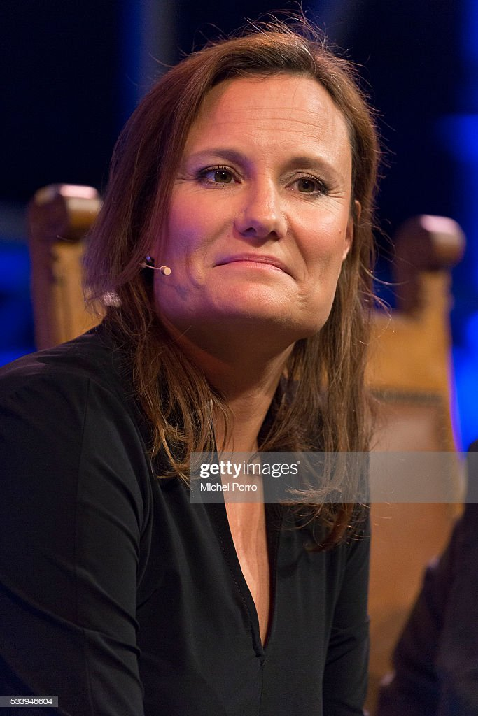 Booking.com CEO Gillian Tans attends the kick-off of Startup Fest Europe on May 24, 2016 in Amsterdam, The Netherlands. The event facilitates match-making between investors and startup entrepreneurs from all over the world.