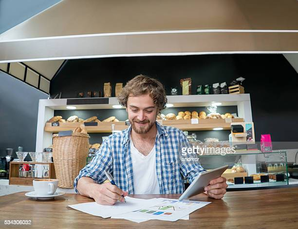 Bookkeeper at a bakery