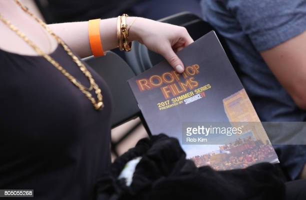 Booklet at a sneak preview of Sony Pictures Classics' BRIGSBY BEAR presented by Rooftop Films at New Design High School on June 30 2017 in New York...
