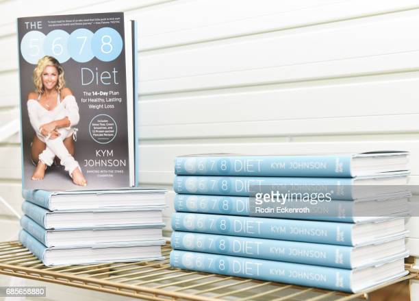 Books at the grand opening of The Bod by Kym Herjavec on May 19 2017 in Beverly Hills California
