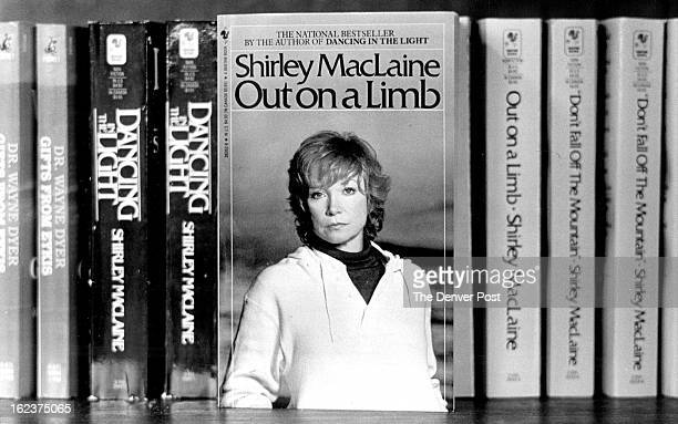 MAY 3 1987 Books on sale in the church lobby include Shirley MacLaine's books as well as a wide selection of others Credit Denver Post Photo