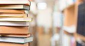 Books studying scripture literature closeup table document