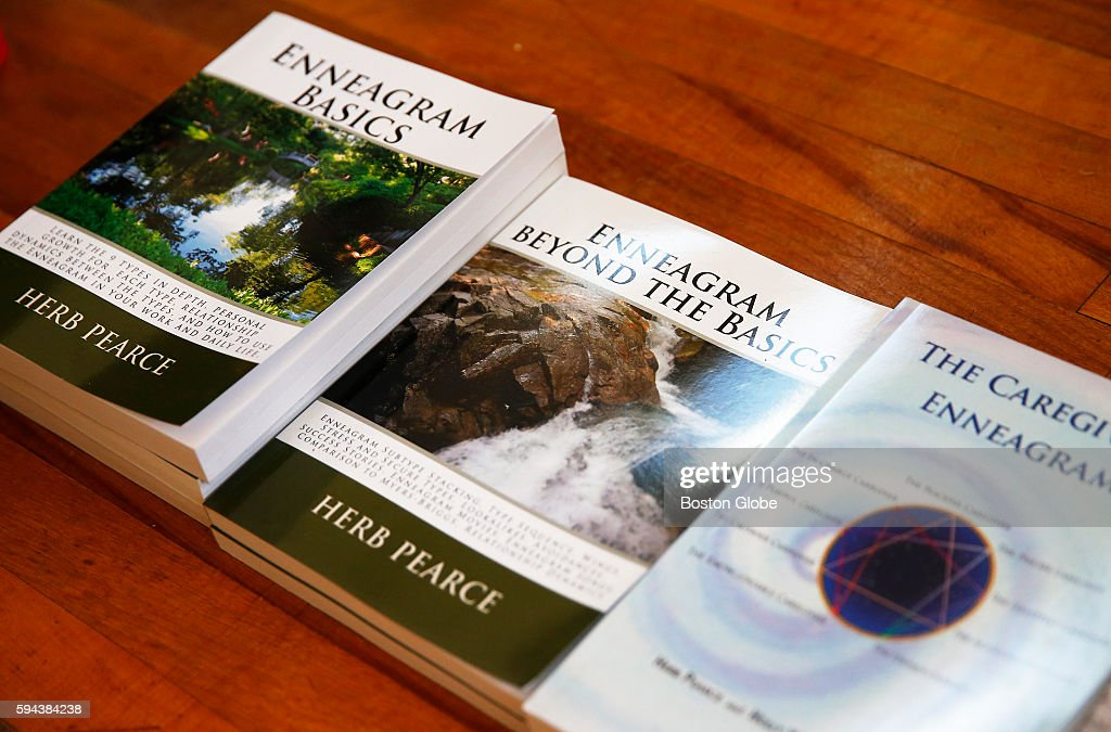 Books written by Herb Pearce at his home in Arlington Mass Aug 4 2016 Pearce is known as the Enneagram Man and is a 35year expert on personality...
