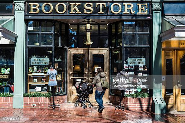 Bookstore, Historic Pearl Street Mall in Boulder Colorado