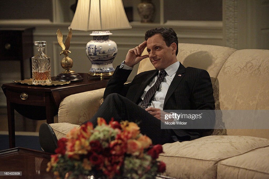 SCANDAL - 'Boom Goes the Dynamite' - Olivia and the team are hired by an up and coming politician, Peter Caldwell (Eric Mabius), but this time instead of fixing a scandal, they're playing high-powered matchmaker. Meanwhile, David is trying to leave the past behind him, but when he feels like he's being followed, he finally turns to the team at OPA for help. Back at the White House, Fitz is still struggling with whom to trust and how to handle a delicate hostage situation, and Jake just won't take no for an answer when it comes to dating Olivia, on ABC's 'Scandal,' THURSDAY, FEBRUARY 21 (10:02-11:00 p.m., ET) on the ABC Television Network. GOLDWYN