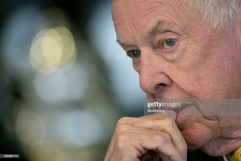 <a gi-track='captionPersonalityLinkClicked' href=/galleries/search?phrase=T.+Boone+Pickens&family=editorial&specificpeople=1971005 ng-click='$event.stopPropagation()'>T. Boone Pickens</a>, founder and chief executive officer of BP Capital LLC, listens during an interview in Washington, D.C., U.S., on Wednesday, April 3, 2013. Billionaire investor <a gi-track='captionPersonalityLinkClicked' href=/galleries/search?phrase=T.+Boone+Pickens&family=editorial&specificpeople=1971005 ng-click='$event.stopPropagation()'>T. Boone Pickens</a> said the U.S. is on a path to energy independence, without the federal help he wanted Congress to provide. Photographer: Andrew Harrer/Bloomberg via Getty Images