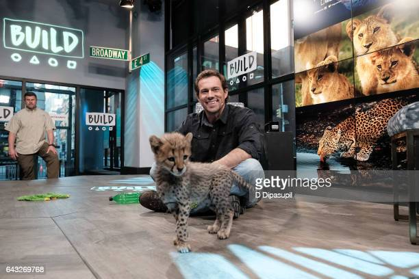 Boone Smith attends the Build Series to discuss 'Big Cat Week' at Build Studio on February 20 2017 in New York City