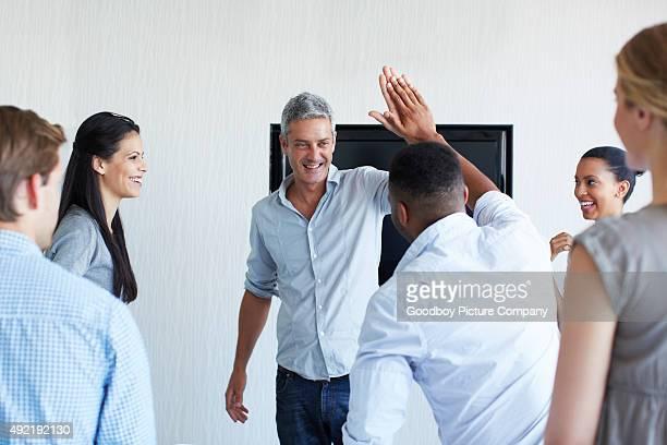 Boosting team morale