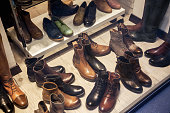 Boots in the shop