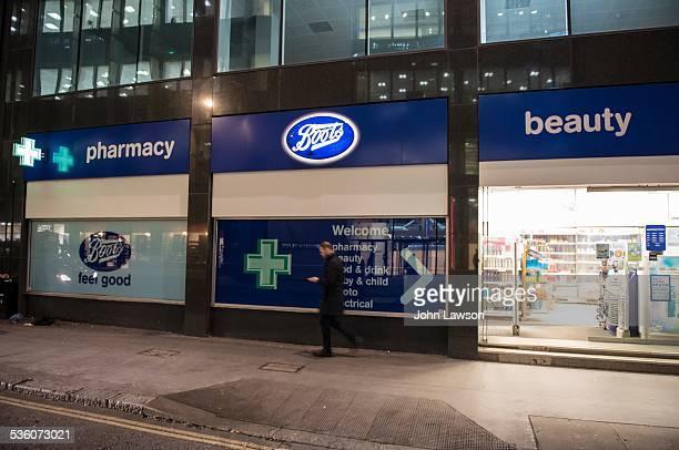 Boots the Chemist pharmacy London