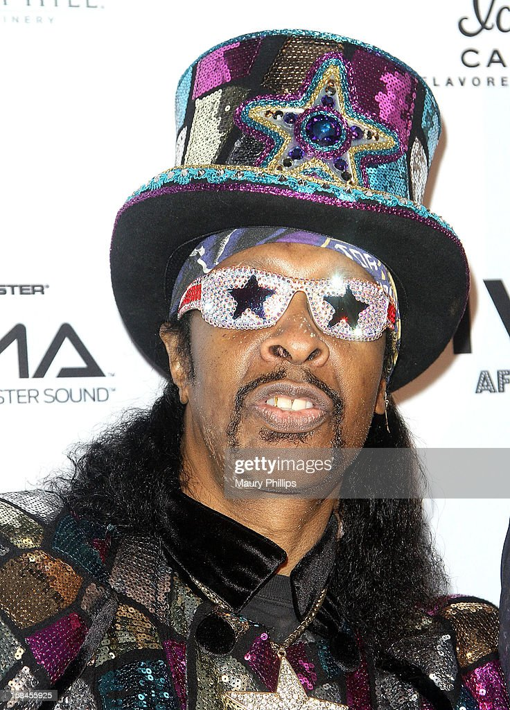 Bootsy Collins attends the Official VH1 Diva after party to benefit VH1 Save The Music Foundation at The Shrine Expo Hall on December 16, 2012 in Los Angeles, California.
